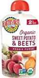 Earth's Best Organic Stage 2, Sweet Potato & Beets, 3.5 Ounce Pouch (Pack of 12) (Packaging May Vary)