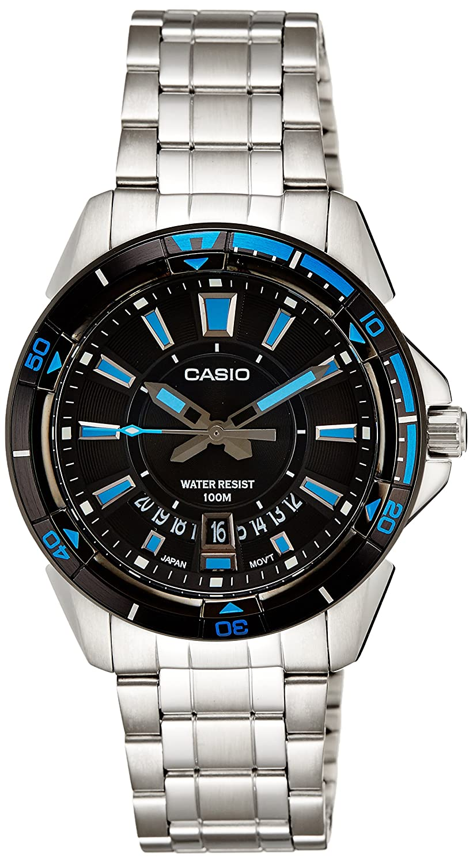 Buy Casio Enticer Men Analog Black Dial Watch Mtd 1066d 1avdf A502 Ltp 1378l 2e Women Quartz Blue Online At Low Prices In India