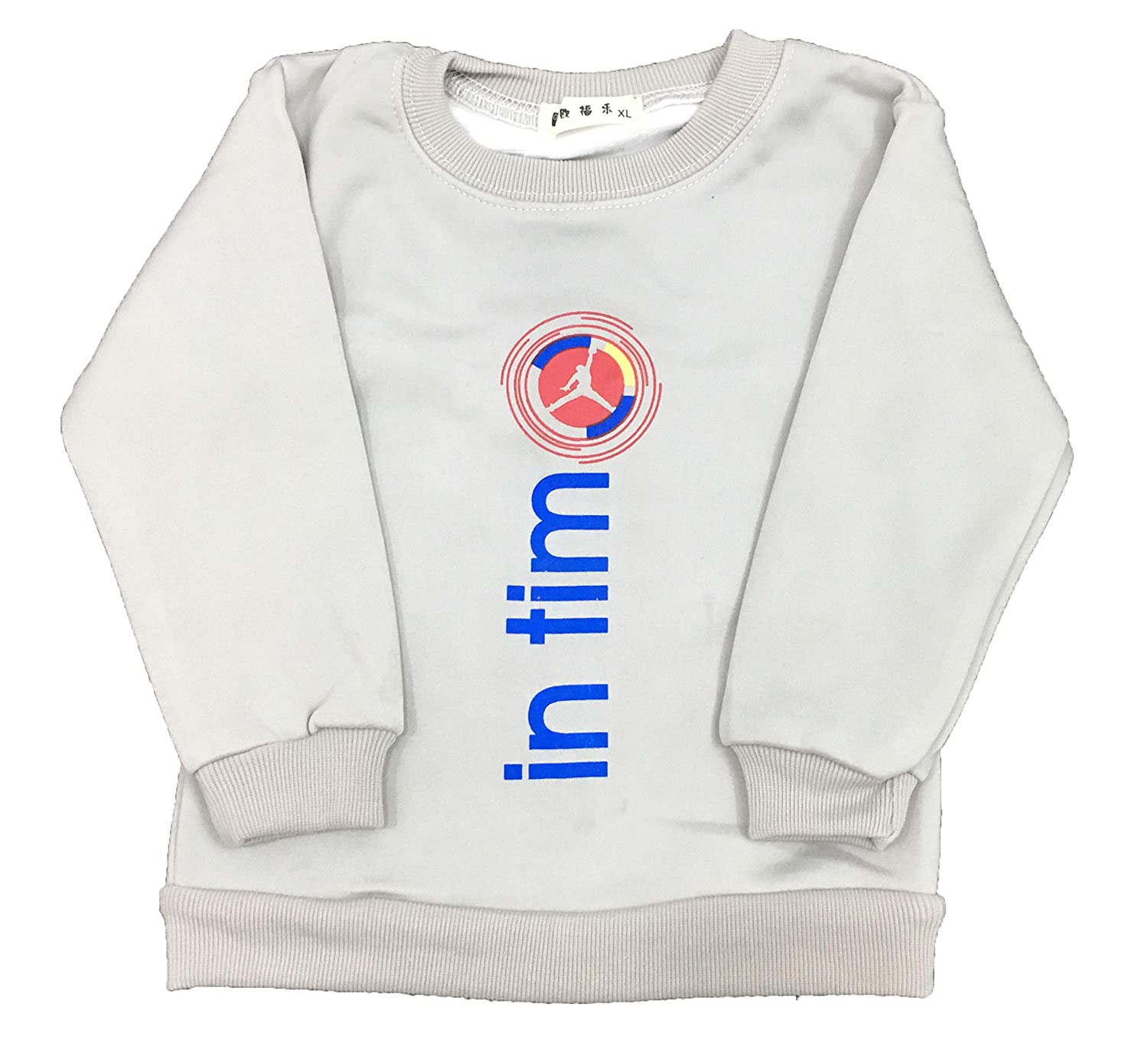 fde4d89b695a ICABLE Baby Boys Baby Girls Kids Full Sleeves Cotton Blend Winter Wear Sweatshirts  Cute Graphic Print Top with Inner Fur  Amazon.in  Clothing   Accessories