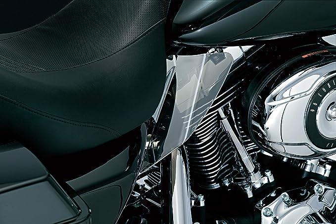 Harley Softail 1186 Kuryakyn Reflective Smoke Saddle Shield 2000