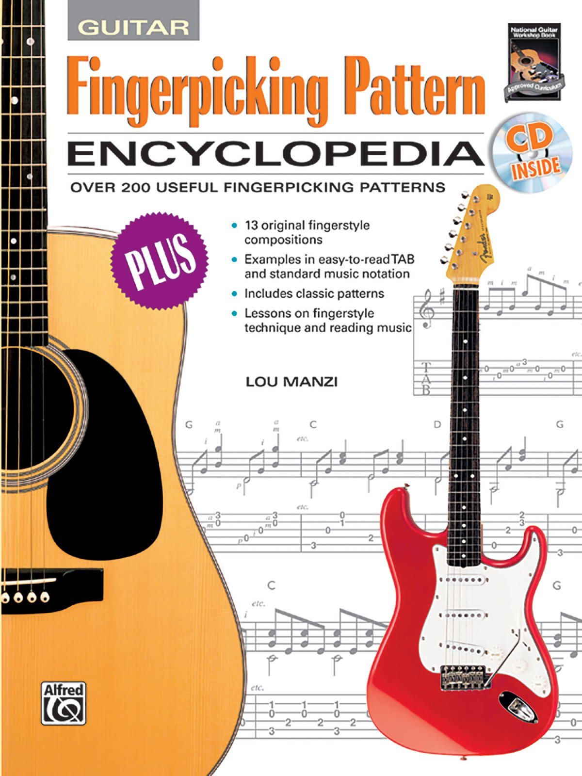 fingerpicking pattern encyclopedia book cd rom