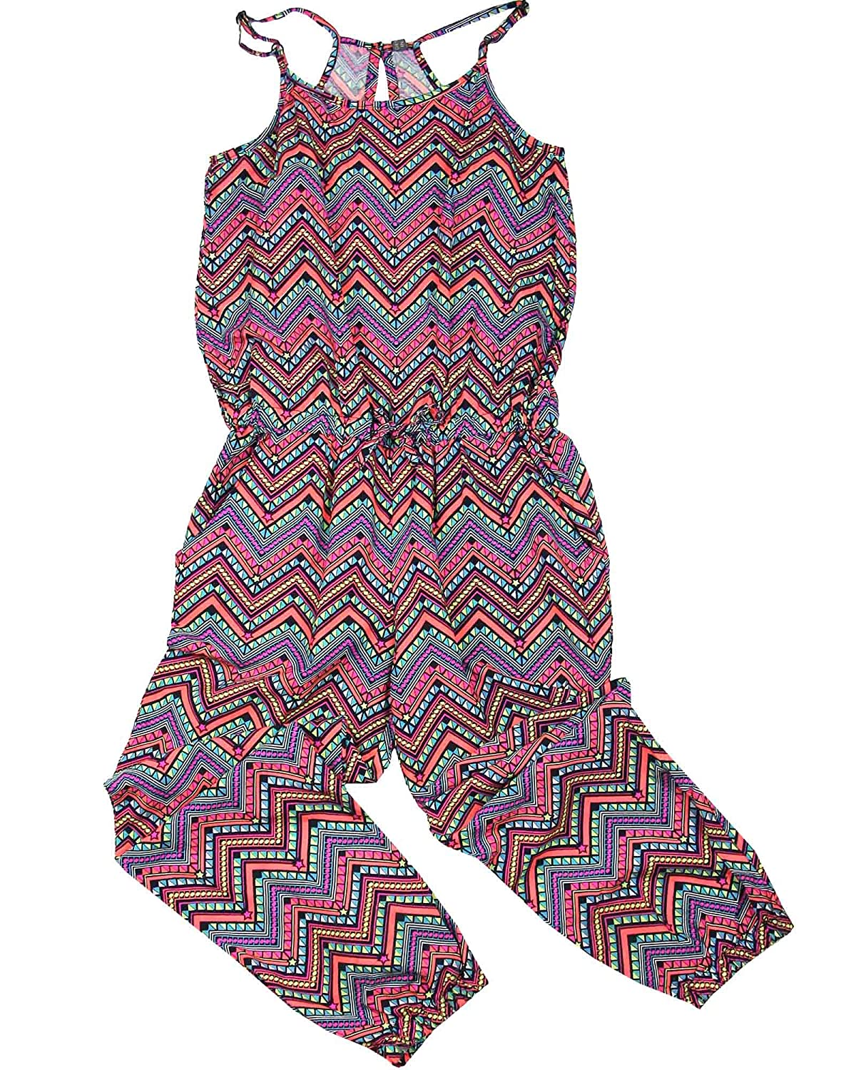 Losan Junior Girls Jumpsuit in Geometric Print Sizes 8-16