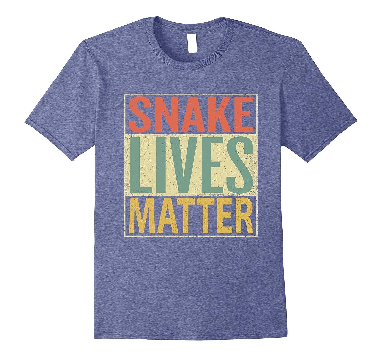 Snake Lives Matter Shirt. Funny Vintage Snake Tee-ANZ
