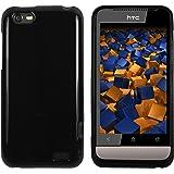 mumbi TPU Skin Case HTC One V Silikon Tasche Hülle - Silicon Protector Schutzhülle schwarz