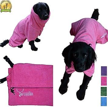 Mikrofaser Hunde Bademantel von Premium Qualität von Arcadian. Diese ...