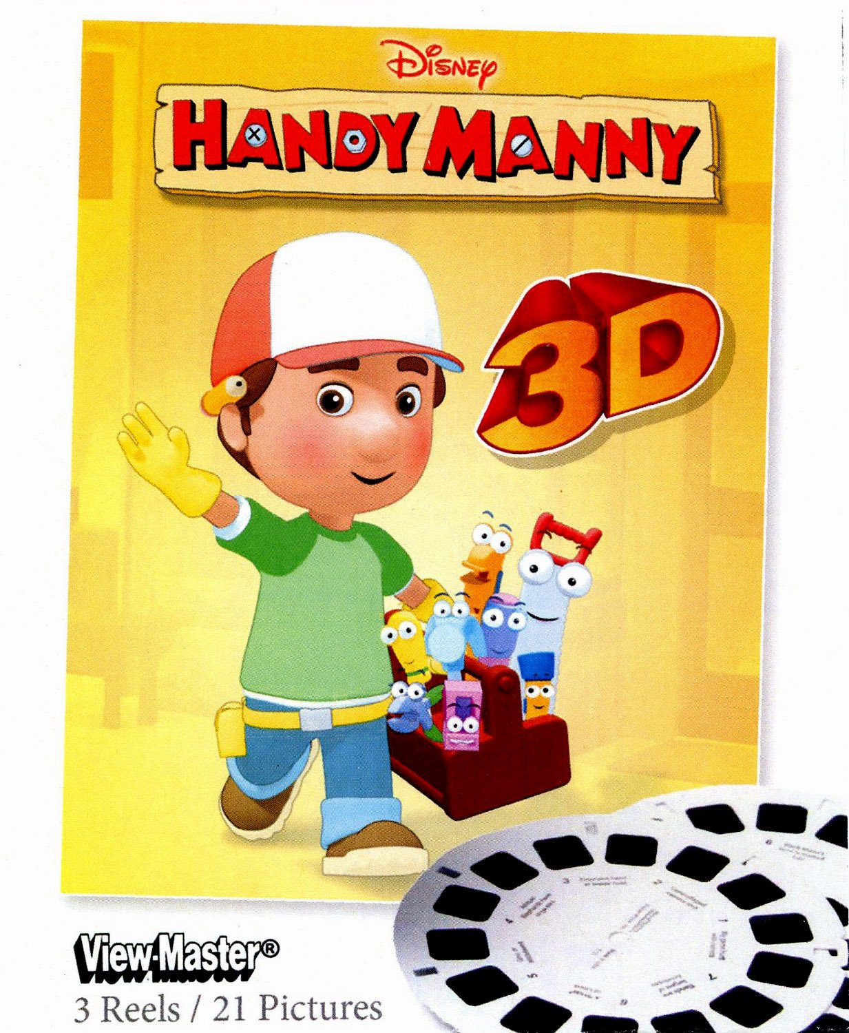 ViewMaster 3D Reels - Handy Manny 3-pack Set