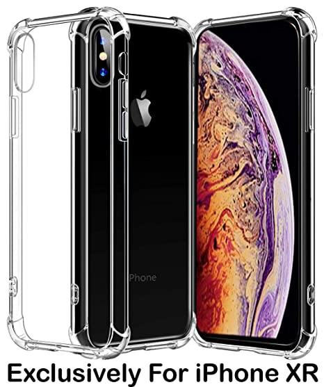 sale retailer 01aaa 3e311 Amazon.com: Pelotek; iPhone XR Hard Clear Case, iPhone XR See ...