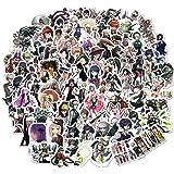 100pcs Danganronpa Stickers Japanese Anime Stickers for Water Bottles Skateboard Laptop for Kids Adults Teens Vinyl Waterproo