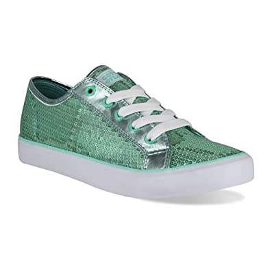 Gotta Flurt Youth Disco II Lace Up Low Top Sneakers: Sports & Outdoors