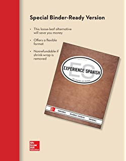 Amazon looseleaf for experience spanish 9780077606572 mara looseleaf for experience spanish student edition fandeluxe Image collections