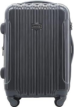 Silver Kensie Luggage 16-Inch Rolling Briefcase