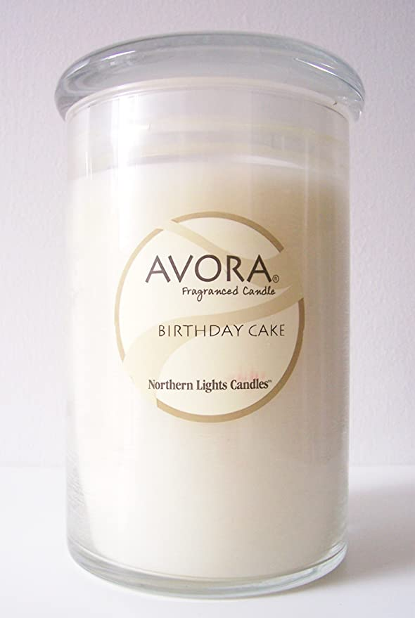 Amazon Avora Candles Birthday Cake Scented Candle Home Kitchen