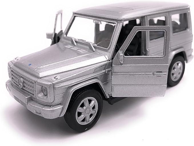 34-1 Welly Mercedes Benz Classe G auto modello di licenza prodotto 1 39 argento