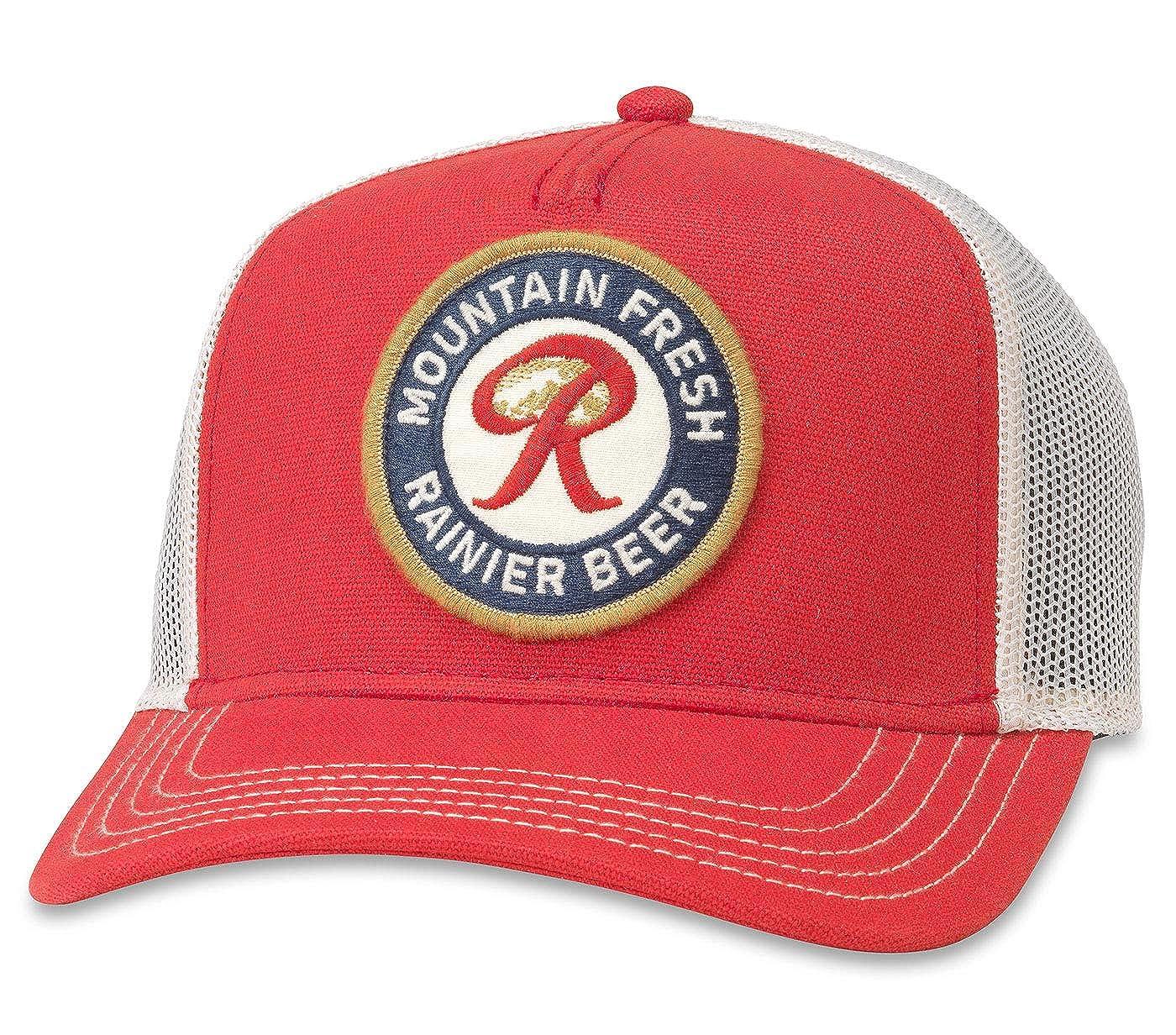 f3666d5e9 American Needle Valin Rainier Beer Mountain Fresh Trucker Hat (PBC ...