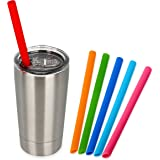 Housavvy Toddler Mug with Lid and Straw Stainless Steel , 12 Oz