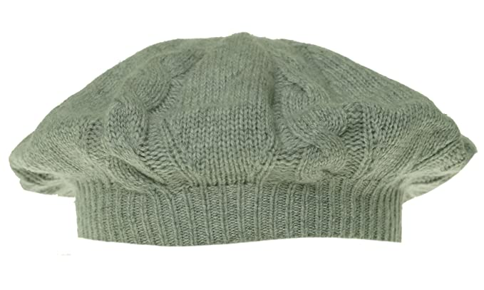 ce5d922e7d9 Image Unavailable. Image not available for. Color  Charter Club Women s  Cashmere Cable Knit Hat One Size Heather Platinum