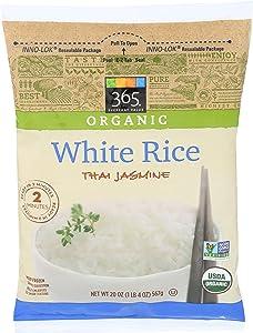 365 Everyday Value, Organic White Rice Thai Jasmine, 20 oz, (Frozen)