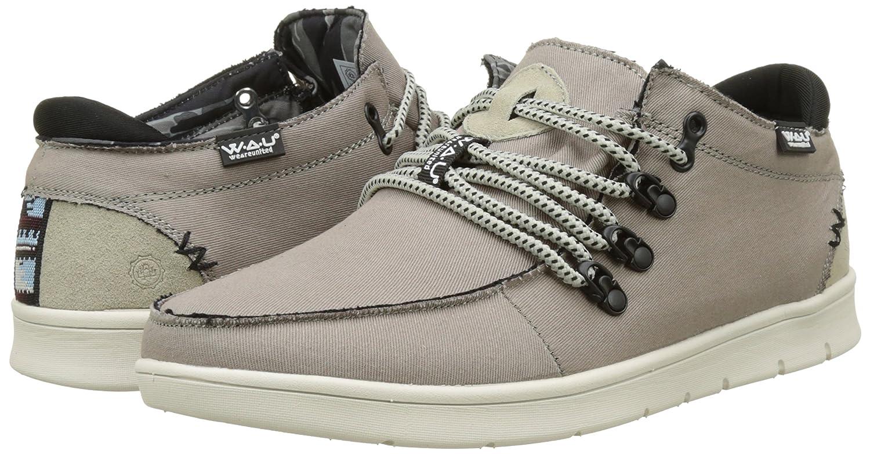 WAU WC96096 - Zapatillas de Deporte de Lona Hombre, Gris (Gris (Grey C32402)), 45 EU: Amazon.es: Zapatos y complementos