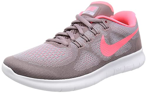 separation shoes 026f4 621a2 Nike Free RN 2017, Scarpe Running Donna, Rosa (Violet Provence Gris Taupe