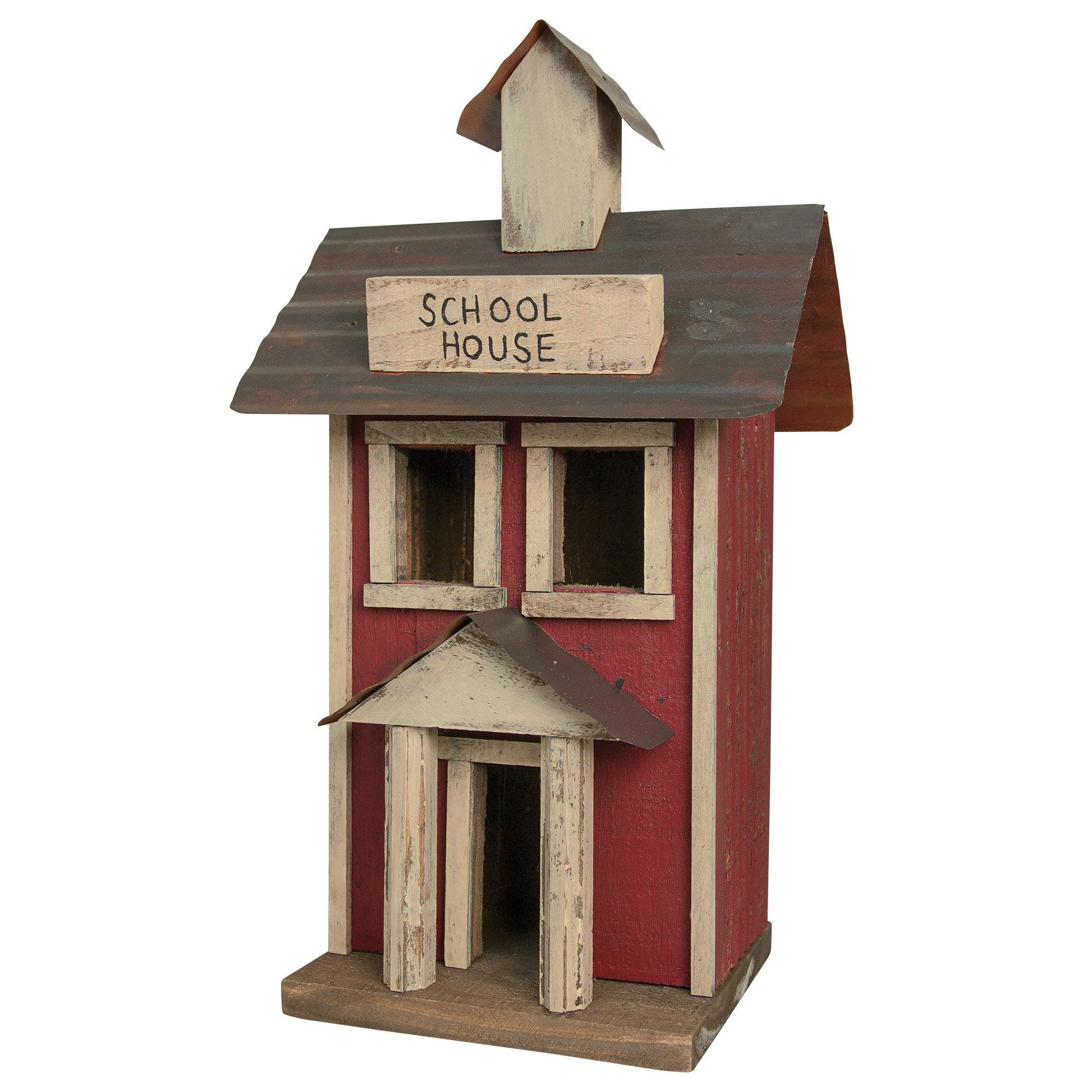 Hearthside Collection Schoolhouse Birdhouse
