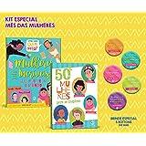 50 Mulheres Para Se Inspirar Com Livro, Botton E Jogo