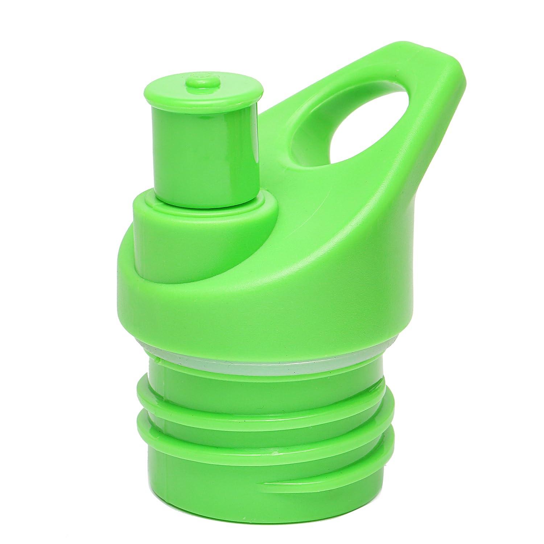 スポーツトップ蓋 ハイドロフラスコ 標準サイズ 断熱ウォーターボトル シンプル モダン 狭いボトル B07G88P8CC  ブライトグリーン