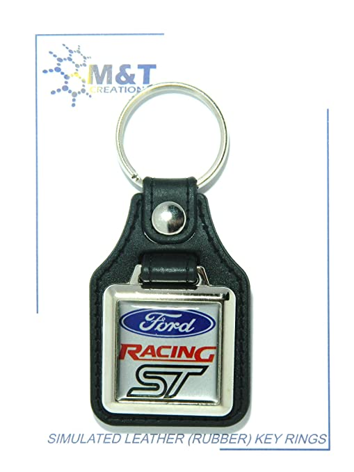 RUBBER KEYRING MEDALLION INSERT 3D PLASTIC IMAGE MT Products SIMULATED LEATHER