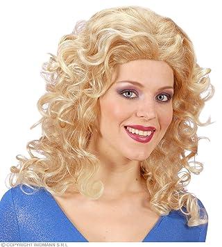 WIDMANN r0979 – Mujer de pelo largo peluca Rita, talla única adultos en caja,