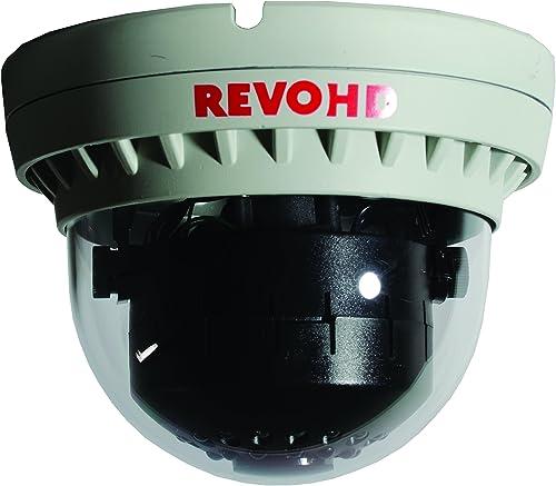 REVO America RCHDS30-2C HD IP 2.1 Megapixel Indoor Dome Surveillance Camera Grey