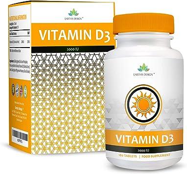 Vitamina D 2000 IU - Colecalciferol - Alta Concentración y ...