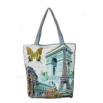 Buy Techonto Women S Zipped Fashion Canvas Tote Heritage Design