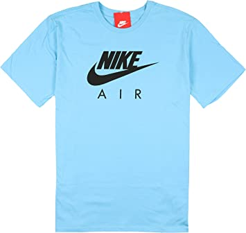Resonar aceptar Raza humana  Nike Air MAX - Camiseta para Hombre, Talla XL, Color Azul Cielo y Negro:  Amazon.es: Deportes y aire libre