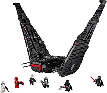 Comprar LEGO Star Wars TM - Lanzadera de Kylo Ren, Set de Construcción de Nave Espacial Inspirada en La Guerra de Las Galaxias Episodio IX, Incluye dos disparadores de juguete, El Ascenso de Skywalker (75256)