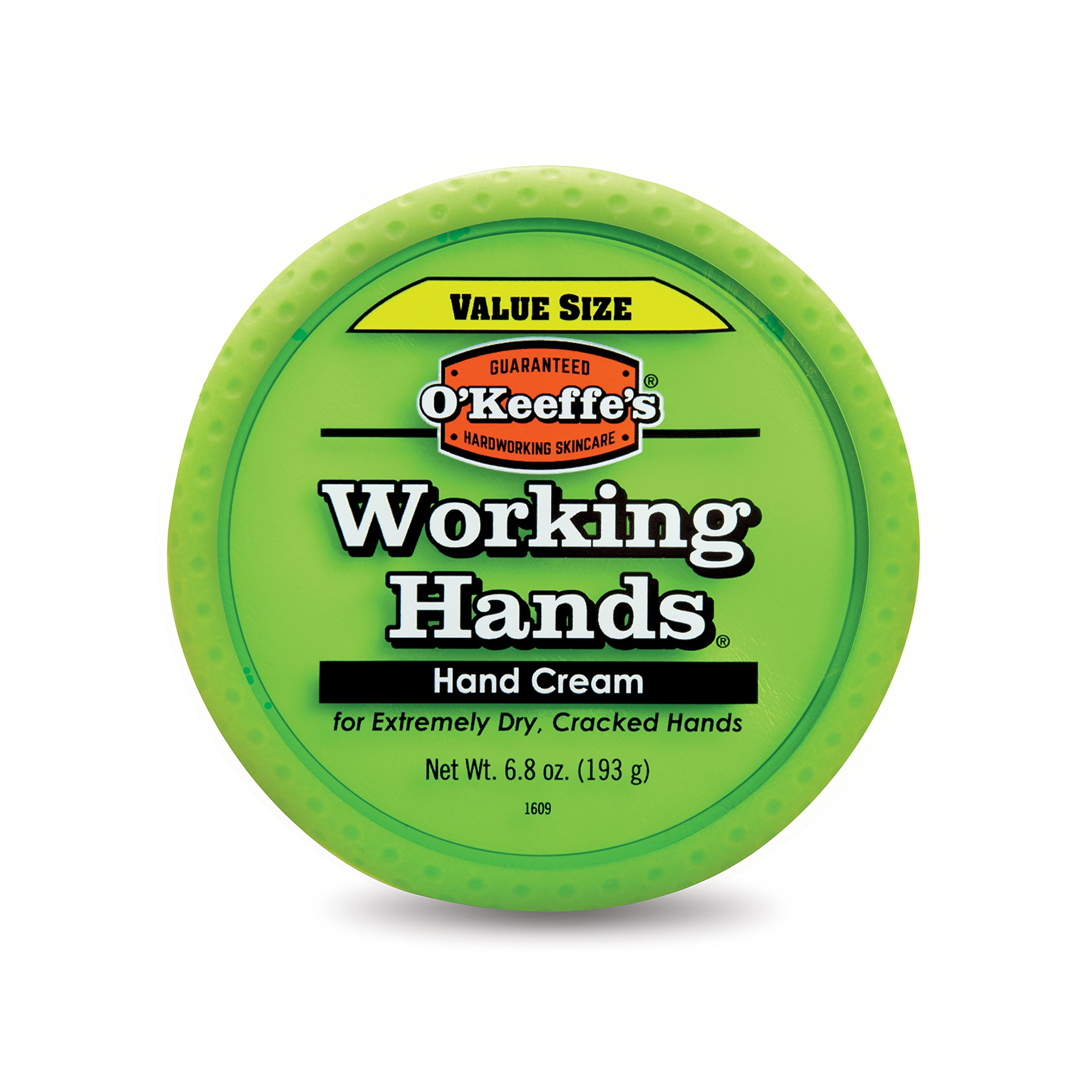 O'Keeffe's Working Hands Hand Cream Value Size, 6.8 ounce Jar by O'Keeffe's