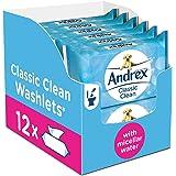 Scottex, salviette per la pulizia del bagno gettabili nel wc, linea Classic Clean, confezione da 12