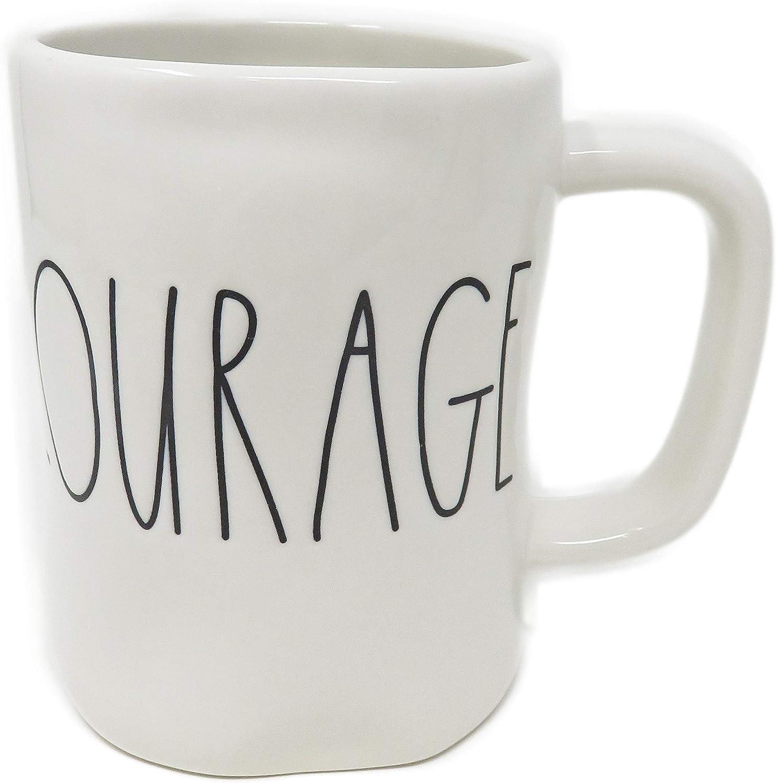 Rae Dunn by Magenta BRAVE Ceramic LL Coffee Mug