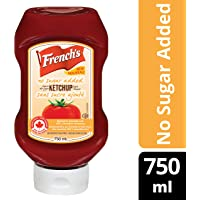 Tomato Ketchup, No Sugar Added, 750ml
