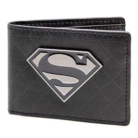 Cartera de DC Comics Superman símbolo de la insignia Negro: Amazon.es: Equipaje