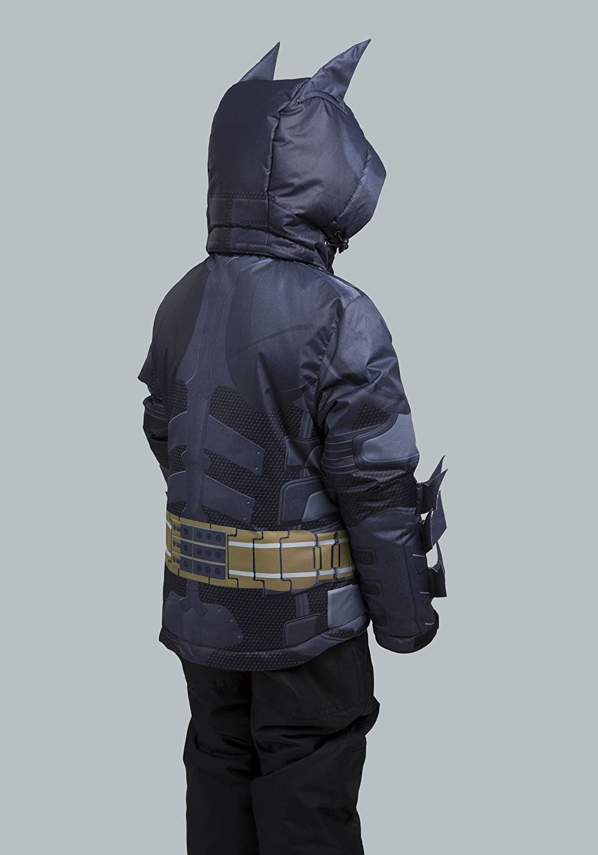 12 Black FUN.COM Kids Batman Dark Knight Snow Jacket INC