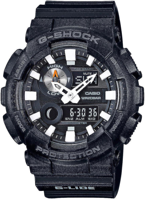 Casio Men s Japanese Quartz Watch with Resin Strap, Black, 29.4 Model GAX100B-1A