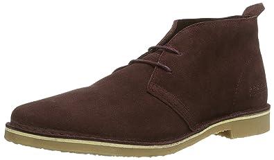 JACK & JONES JFWGOBI Suede Desert Boot, Herren Desert Boots, Braun (Cognac), 44 EU