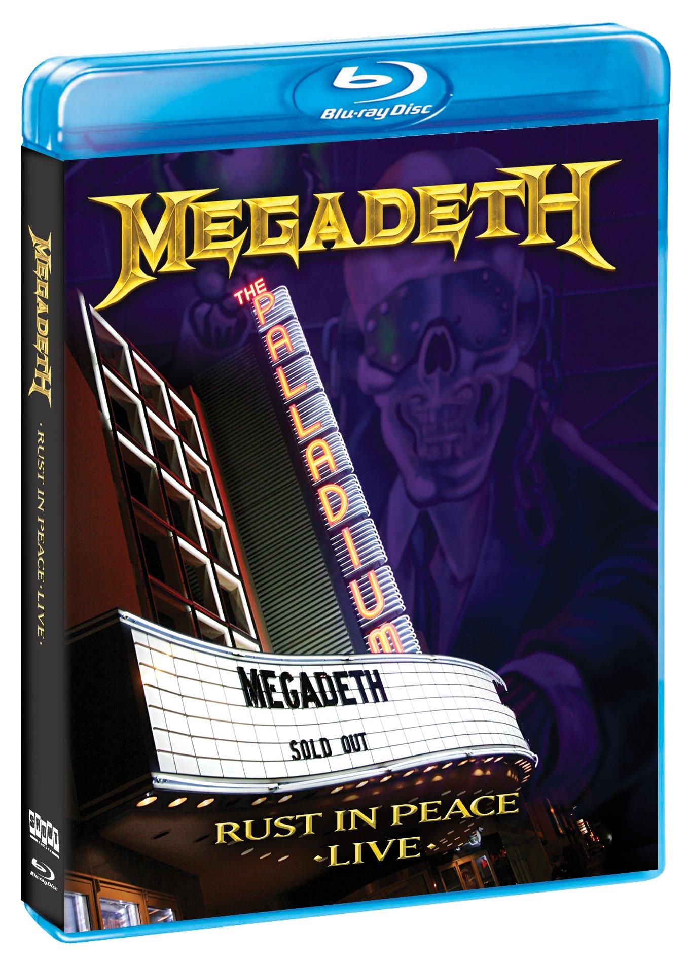 Blu-ray : Megadeth - Rust in Peace Live (Blu-ray)
