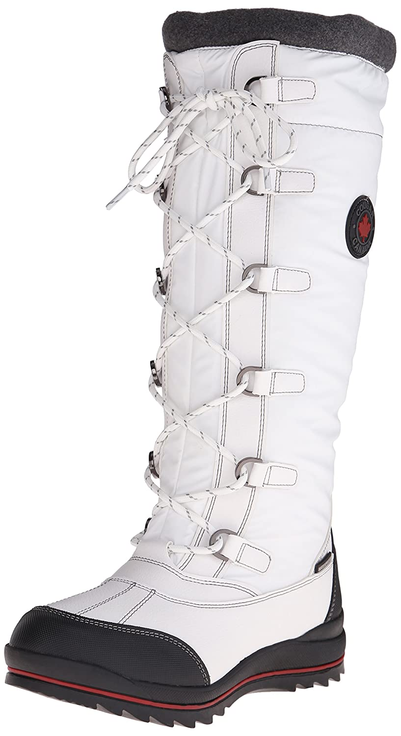 Cougar Women's Canuck Snow Boot B013KPEZ4S 9 B(M) US|White
