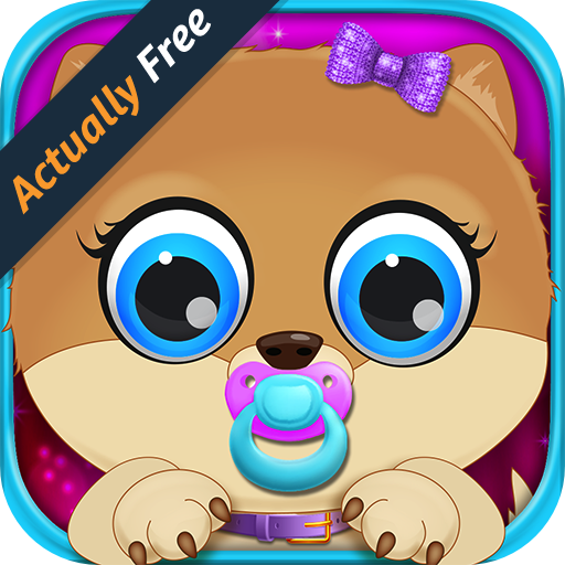 Celebrity Pet Hollywood & Newborn Animal Mommy Dog Pregnancy - Virtual Vet Doctor Pets Boy and Girl Kids Game FREE