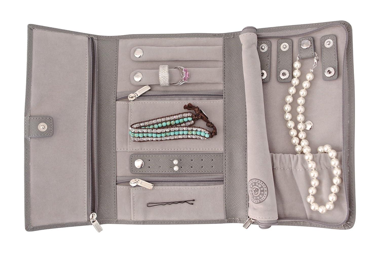 saffiano leather travel jewelry case jewelry organizer petite by case