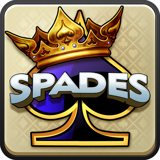 play card game spades - 9