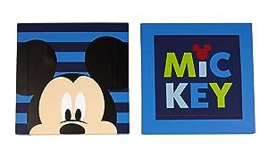 Disney Mickey Wall Art, 2 Count