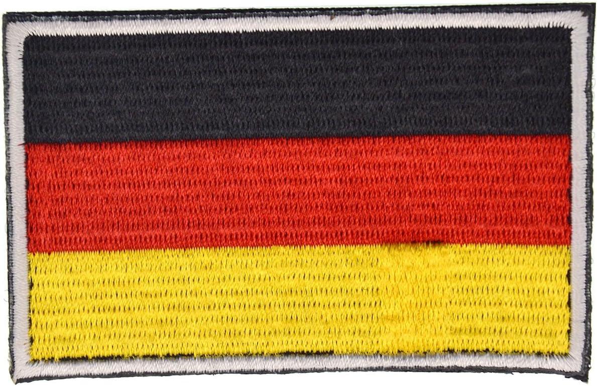 Pegatinas de la bandera con velcro, podría ser pegado a la ropa, chaleco, gorra, mochila Directamente, 5 países a elegir: Amazon.es: Deportes y aire libre