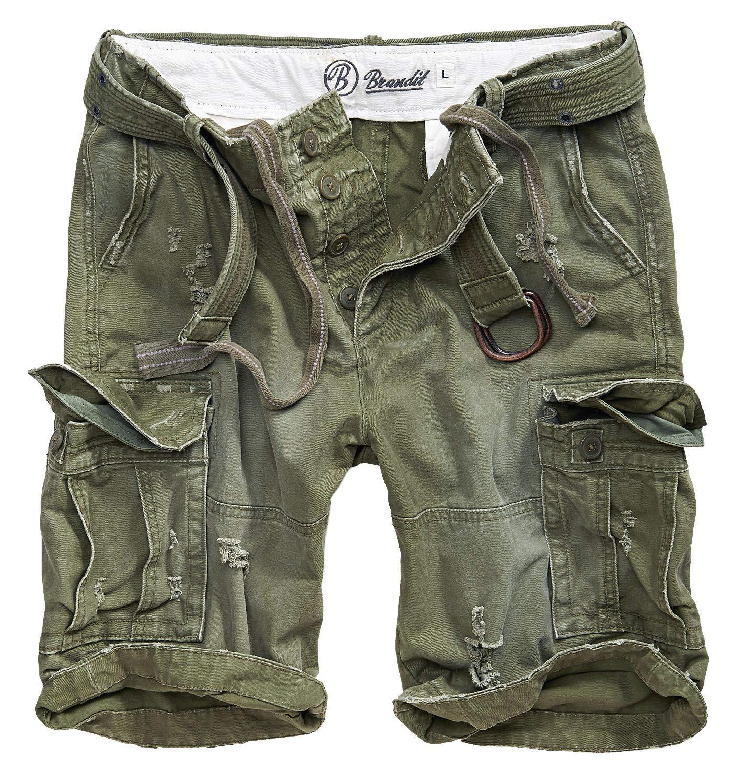 Brandit Shell Valley Heavy Vintage Shorts Olive size S