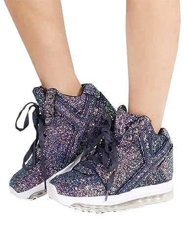 894a5739dffd YRU Qozmo Aiire Purple Glitter Sneakers (7)